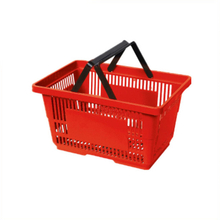 plastic collapsible shopping handbasket