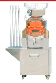 new type of commercial orange juicer with stand